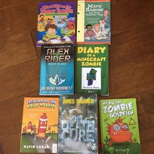 Other - Lot of 7 kids books AR level Summer reader